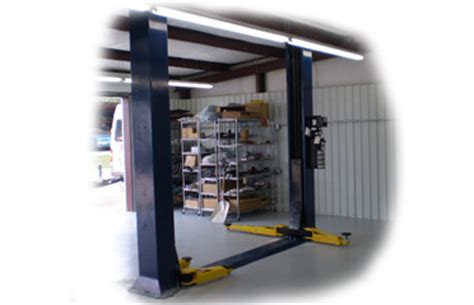 Low Ceiling Two Post Lift by Challenger Clfp9 9k 2 Post Lift Free Shipping