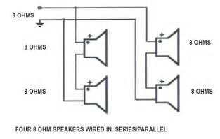 wiring 3 8 ohm speakers in parallel wiring free engine image for user manual