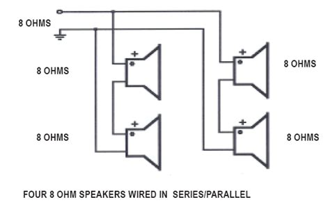 wiring 3 8 ohm speakers in parallel wiring free engine