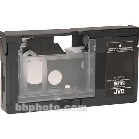 adattatore cassette jvc c p7u vhs c cassette to vhs adaptor cp7u b h photo