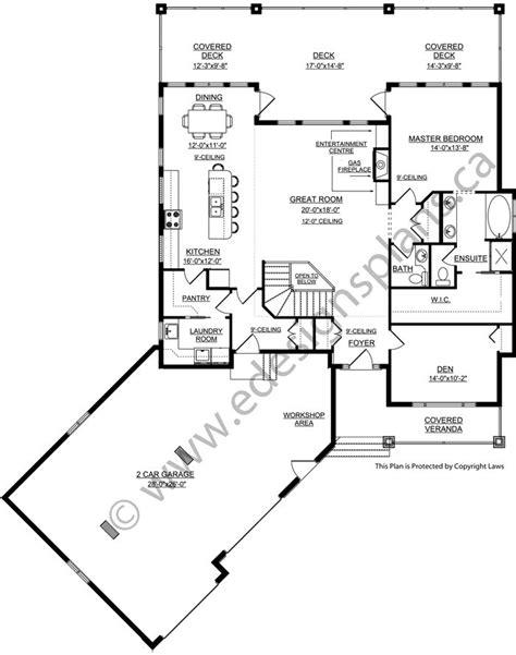 walkout bungalow floor plans 246 best house plans etc images on pinterest small