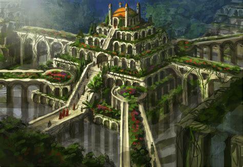 giardini pensili di babilonia le sette meraviglie mondo quali e dove the italian