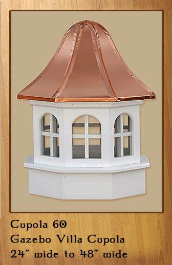 gazebo cupola gazebo cupolas eight sides vinyl or cedar valley forge