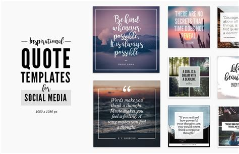 quote templates  social media medialoot