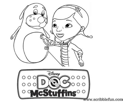 full page doc mcstuffins coloring pages free printable doc mcstuffins coloring pages