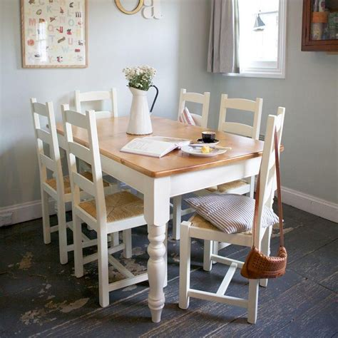 ivory painted dining tables dining room ideas