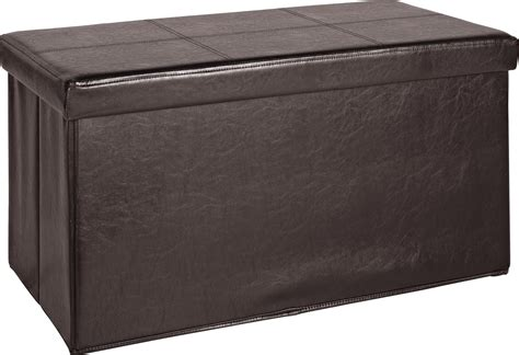 leather effect ottoman sale on home large leather effect ottoman stitching
