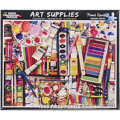 Jigsaw L Supplier by Poledit White Mountain Puzzles Supplies 1000