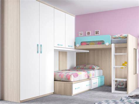 camas peque as infantiles camas y literas tren dormitorio con cama alta de rinc 243 n