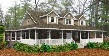 House Plans With Wrap Around Porches Wrap Around Porch Home Designs House Design
