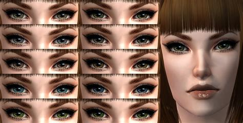 sims 4 realistic eyes mod the sims 4 more eye sets sims 2 genetics