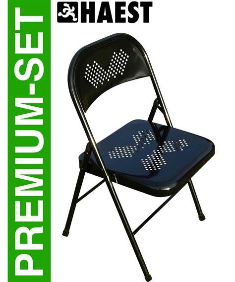 Hängematten Stuhl by 6 St 252 Ck Klappst 252 Hle Premium Metall Klappstuhl Robuster