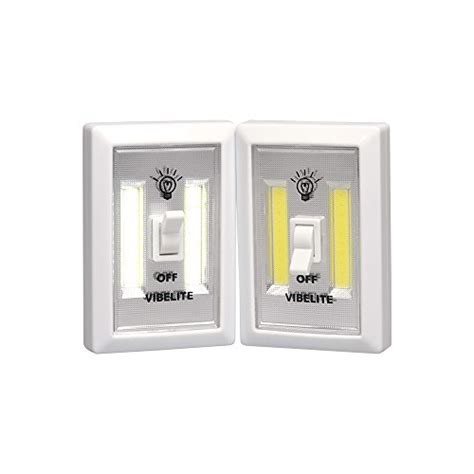 battery powered led light switch vibelite battery operated led lights cob led