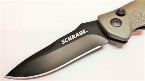 schrade survival automatic knife schrade sc60od automatic knife