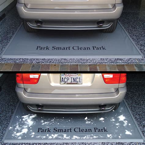 Garage Floor Snow Containment by Keep Snow Garage Floor With A Park Smart Clean Park