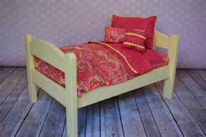 american doll bed american doll bed yellow pink