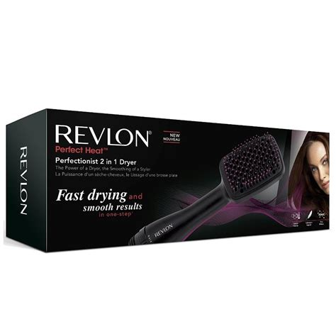 Hair Styler Dryer With Cool Setting On Hair by Revlon Rvha6475uk Powerful 1000w 2 In 1 Hair Dryer And