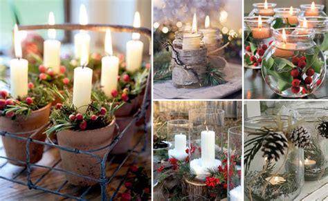 decorazioni candele natalizie decorazioni natalizie