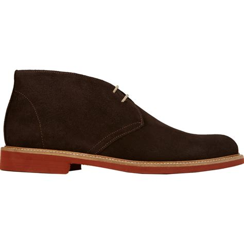 New Shoes From Barneys by Barneys New York Suede Plain Toe Chukka Boots Brown Size 8