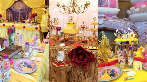 decoracion de fiesta de la princesa bella y la bestia decoracion la bella y la bestia