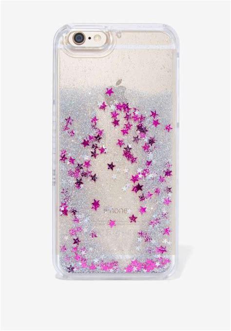 Iphone Casing Glitter Aqua Pink Black Make A Wish 67 funda purpurina original liquida agua para iphone 4 5
