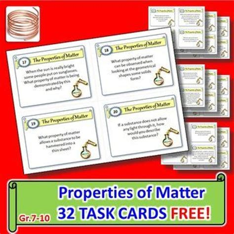 science task card template 17 best images about my free products on