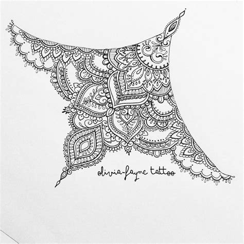 mandala sternum tattoo 25 best ideas about mandala sternum on