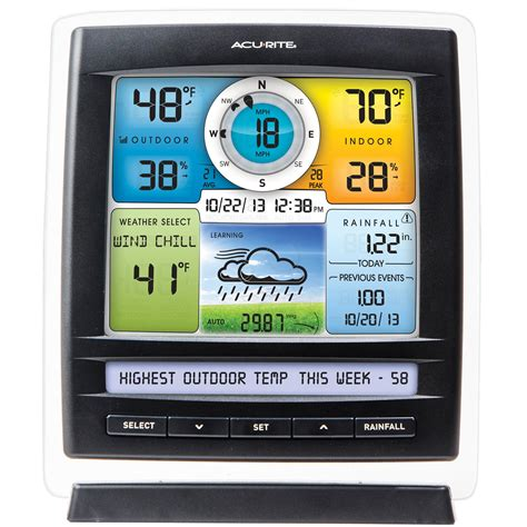 acurite 01512 pro color weather station with