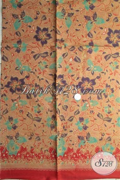 kain batik coklat haluss jual kain batik printing murmer kwalitas halus warna