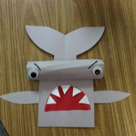 shark craft projects 25 best ideas about shark craft on