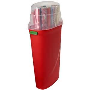 Rubbermaid Gift Wrap Storage Container - vertical wrapping paper storage container set of 4 walmart com