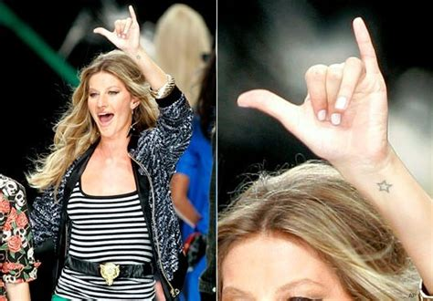 gisele bundchen tattoo info