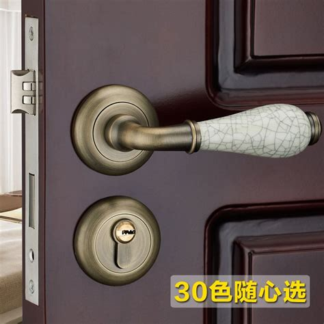 my bedroom door is locked from the inside the european indoor room door handle lock door lock simple bronze lying inside the