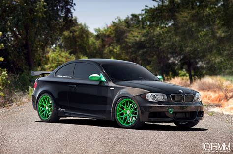 Bmw 1 Series Hatchback Wide Body Kit by Widebody Bmw 135i Little Green Moster Autoevolution