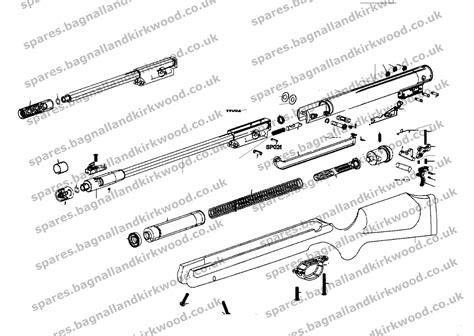 air rifle parts diagram webley stingray spare parts bagnall and kirkwood airgun