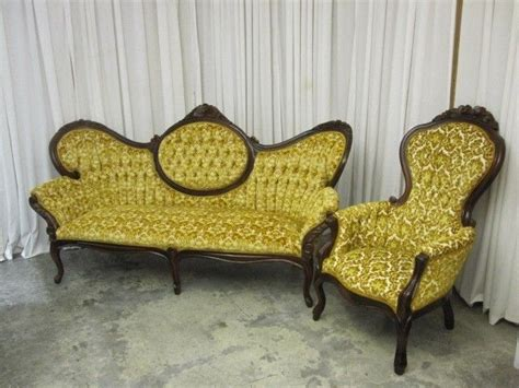 vintage style cameo sofa balloon back chair by