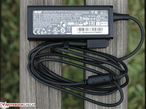 Original Adaptor Acer Aspire Es1 512 Es1711 Series 19v 237a acer aspire e15 start es1 512 p1sm notebook review