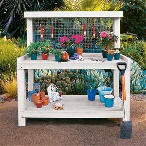 build a potting bench pallet potting bench plans pallet wood projects