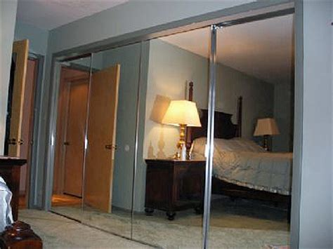 Mirror Bypass Closet Doors Mirror Bypass Closet Doors Mirror Impression By Pass