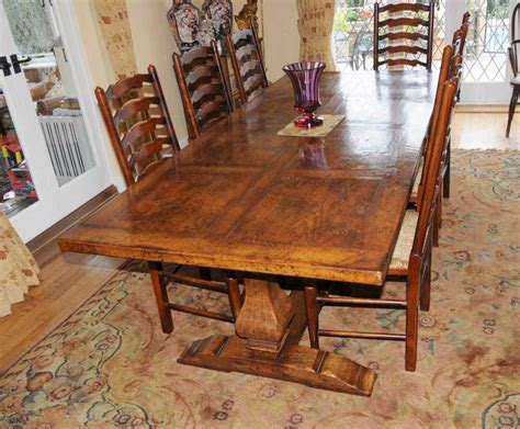 country dining table set country refectory table and ladderback chair dining set