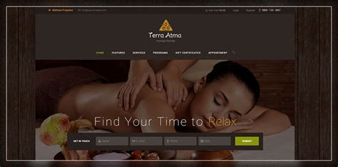 wordpress themes free massage top 15 spa and massage salon wordpress themes