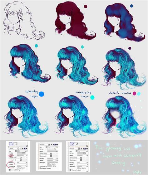 anime hairstyles tutorial my stream live broadcasting www twitch tv