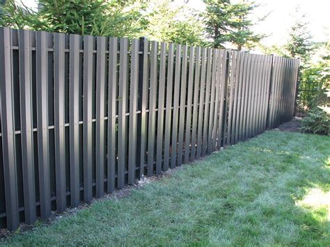 aluminum privacy fence images