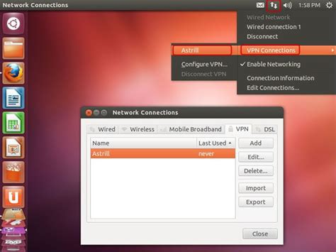 setup ubuntu pptp server astrill setup manual how to configure pptp with linux