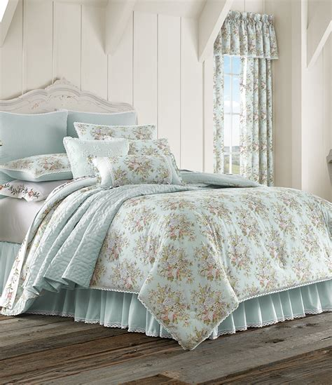 dillards bedding sale piper wright haley lace trimmed floral striped