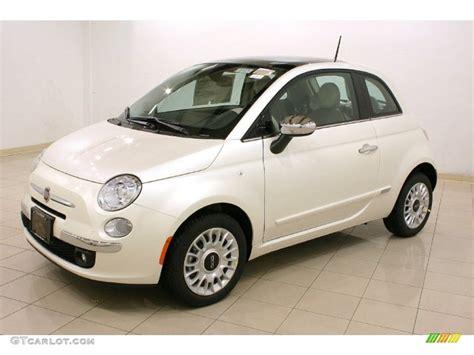 pearl white fiat 2012 bianco perla pearl white fiat 500 lounge 57095608