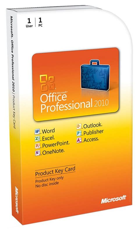 Office 2010 Pro Plus by Microsoft Office 2010 Professional Plus Product Key