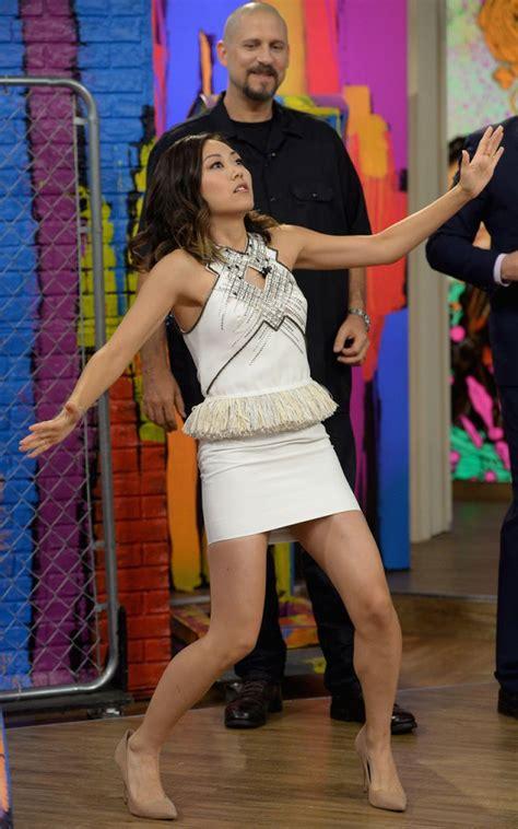 Karin Set fukuhara on the set of despierta america in miami 07