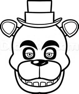 Nights at freddys foxy coloring pages coloring pages