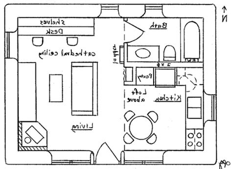 house layout drawing i would turn bedroom into an officelibrarystudymedia room